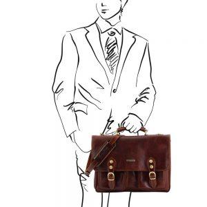 Кожена чанта MODENA TL141134-04