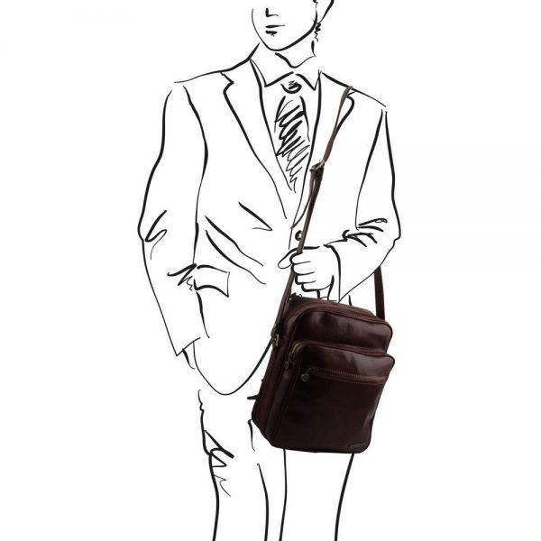 Кожена чанта OSCAR TL140680-04