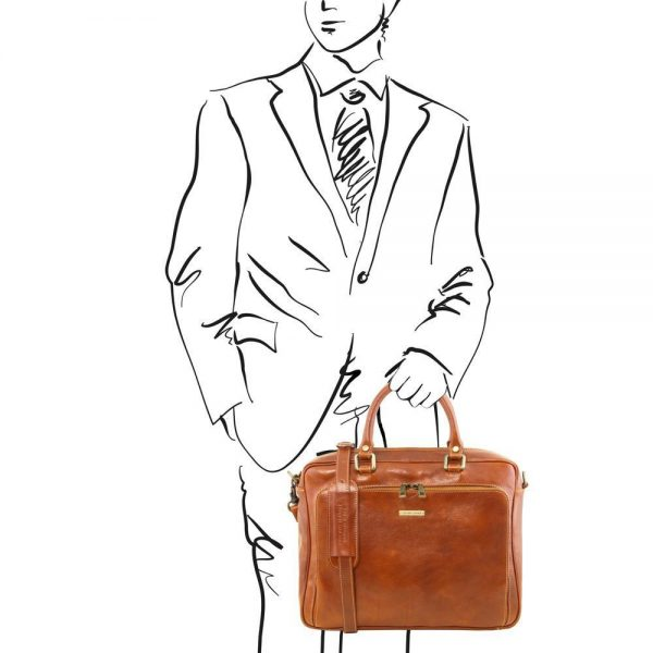 Кожена чанта PISA TL141660-04