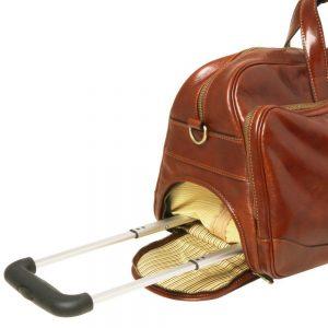 Кожена чанта с колелца SAMOA TL141452-01