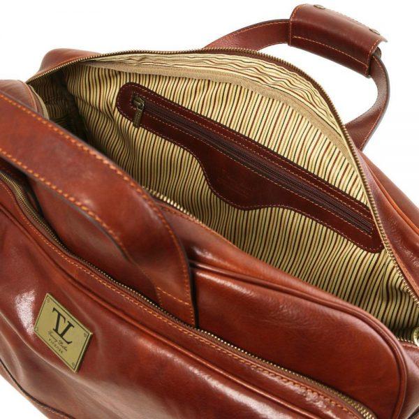 Кожена чанта с колелца SAMOA TL141452-04