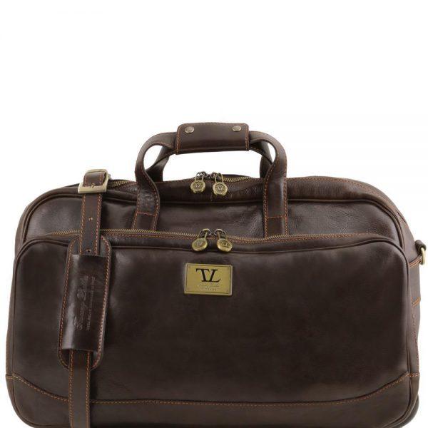 Кожена чанта с колелца SAMOA TL141452-07