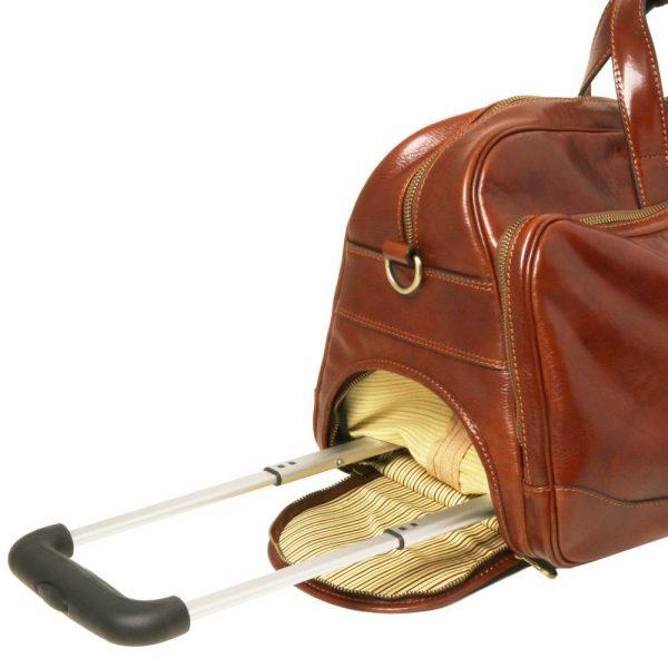 Кожена чанта с колелца SAMOA TL141453-01