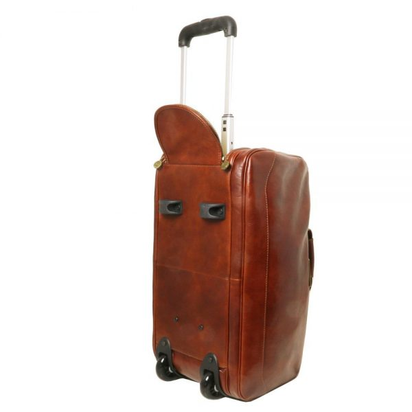 Кожена чанта с колелца SAMOA TL141453-02