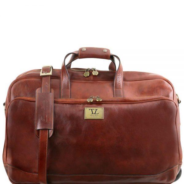 Кожена чанта с колелца SAMOA TL141453-05