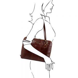 Кожена чанта TL141277-03