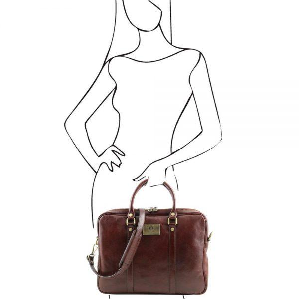 Кожена чанта TL141283-03