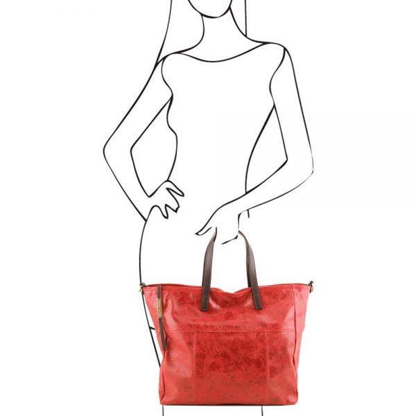 Кожена чанта TL141552-05