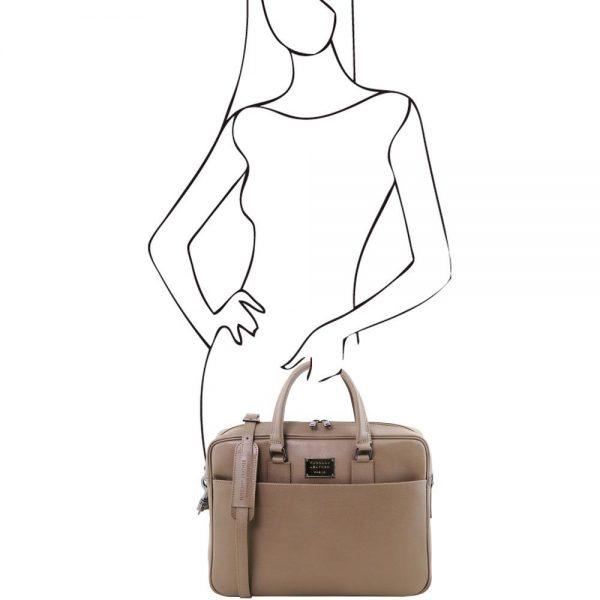Кожена чанта TL141627-06