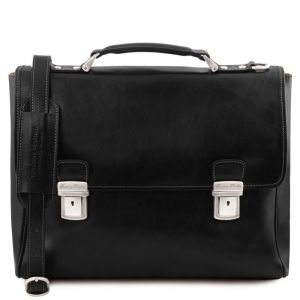 Кожена чанта за лаптоп TRIESTE TL141662-04