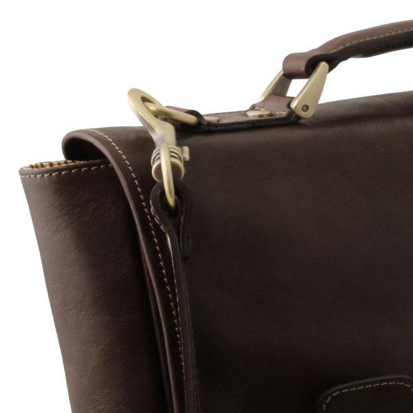 Кожена чанта за лаптоп TRIESTE TL141662-08