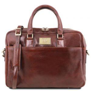 Кожена чанта за лаптоп URBINO TL141241-02