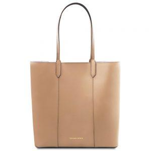 Кожена чанта за рамо TL141439-03