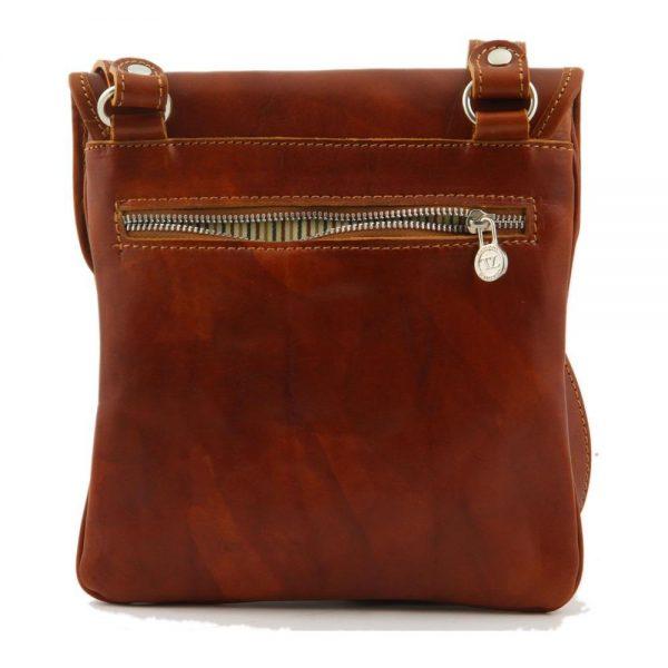 Кожена мъжка чанта за рамо JOE TL140987-01