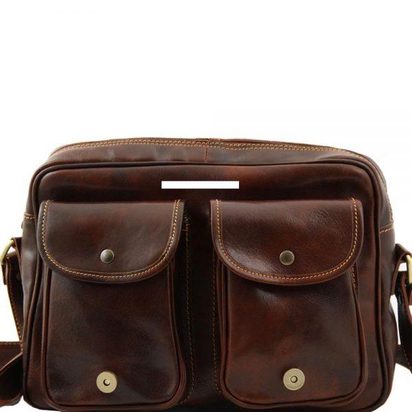 Кожена мъжка чанта за рамо SAN MARINO TL10180-04