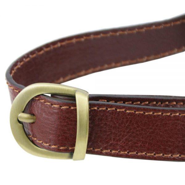 Кожена мъжка чантичка за кръст Leather Fanny Pack TL141305-09