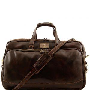 Кожена мъжка пътна чанта BORA BORA Small size TL3065-06