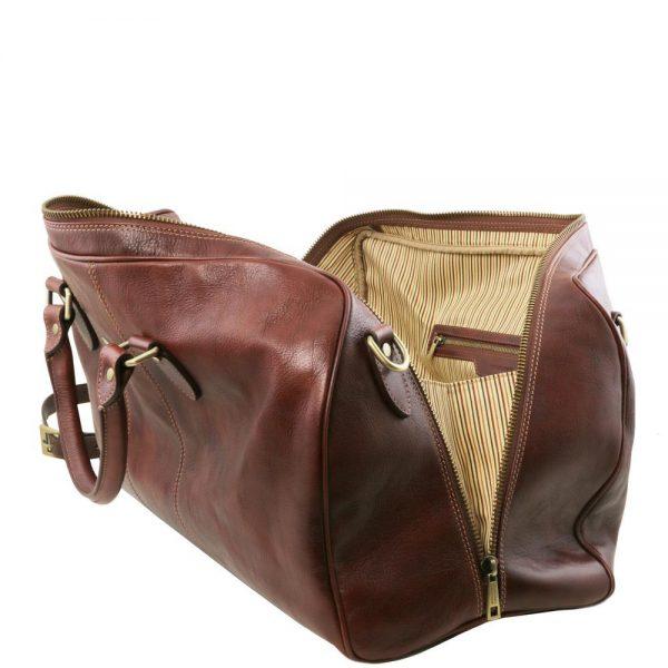 Кожена пътна чанта LISBONA TL141658-01