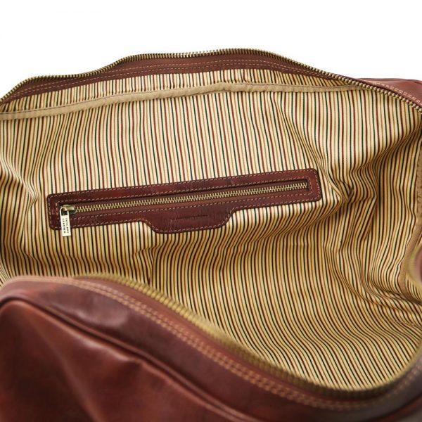 Кожена пътна чанта LISBONA TL141658-02