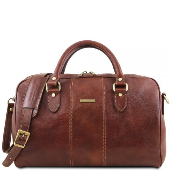 Кожена пътна чанта LISBONA TL141658-04