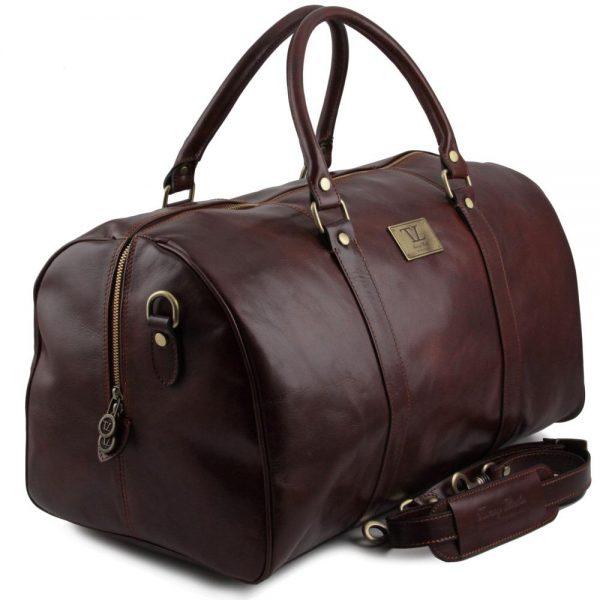 Кожена пътна чанта TL VOYAGER TL141247-01