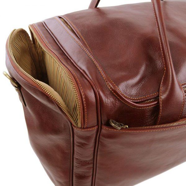 Кожена пътна чанта TL VOYAGER TL141281-02