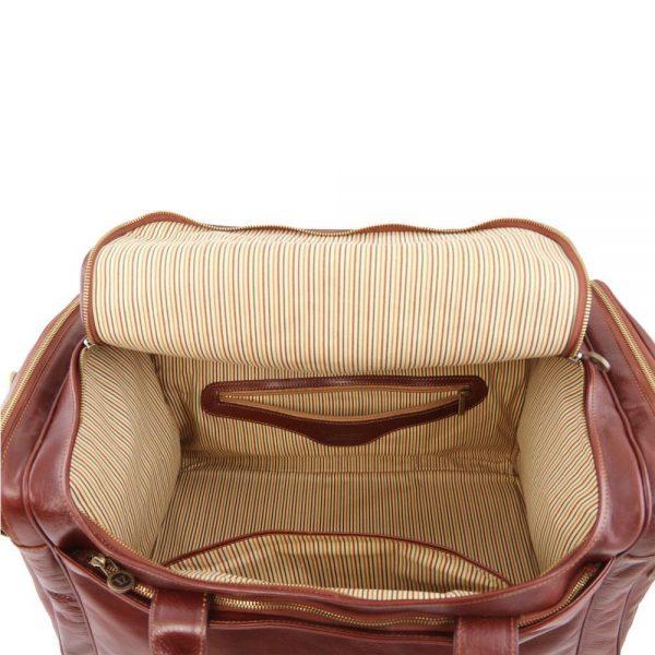 Кожена пътна чанта TL VOYAGER TL141281-03