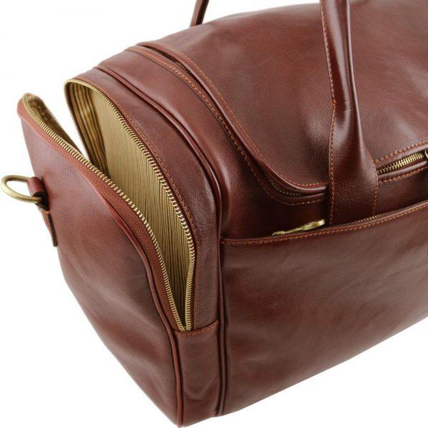 Кожена пътна чанта TL VOYAGER TL141296-01