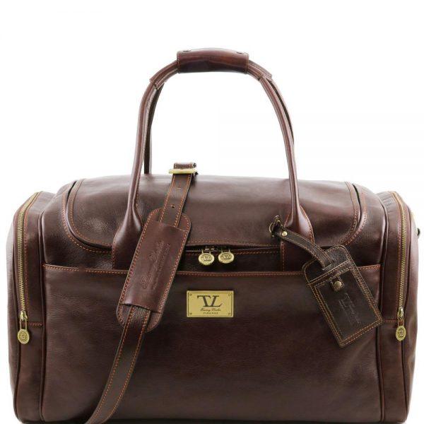 Кожена пътна чанта TL VOYAGER TL141296-07