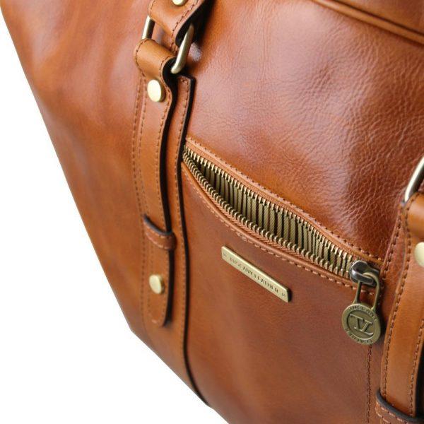 Кожена пътна чанта TL VOYAGER TL141401-02