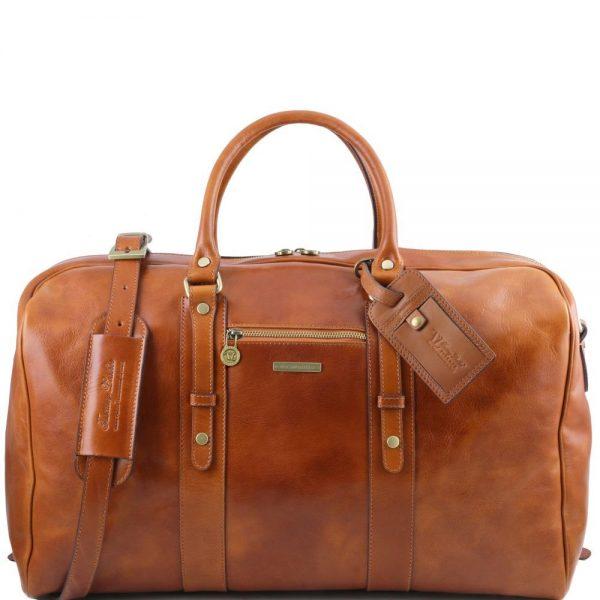 Кожена пътна чанта TL VOYAGER TL141401-07