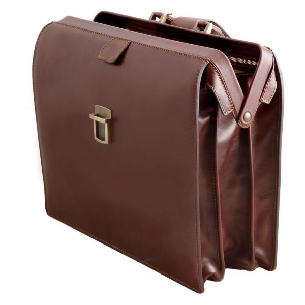 Мъжка кожена бизнес чанта CANOVA TL141347-02