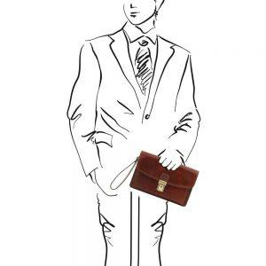 Мъжка кожена чанта ARTHUR TL141444-04