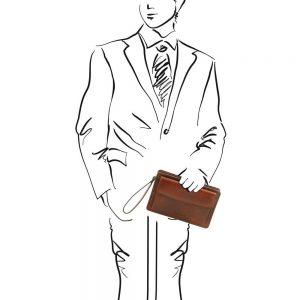 Мъжка кожена чанта DENIS TL141445-04
