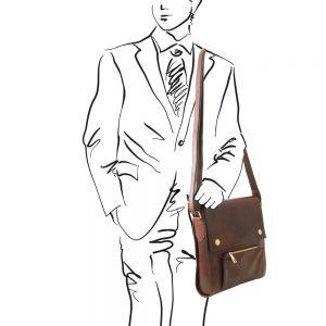 Мъжка кожена чанта OLIVER TL141656-03