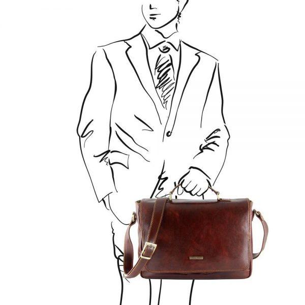 Мъжка кожена чанта PADOVA TL140891-03