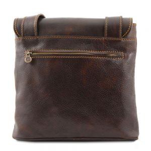 Мъжка кожена чанта за през рамо ANDREA TL9087-01