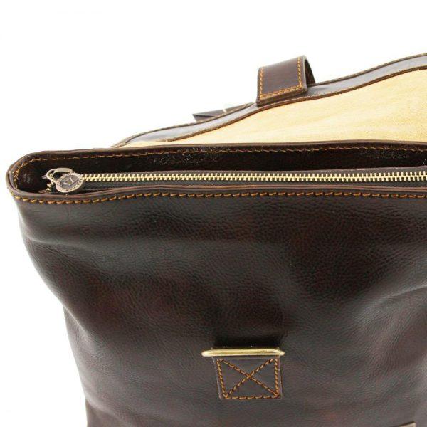 Мъжка кожена чанта за през рамо ANDREA TL9087-02