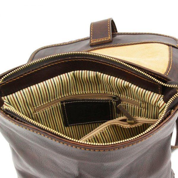 Мъжка кожена чанта за през рамо ANDREA TL9087-03
