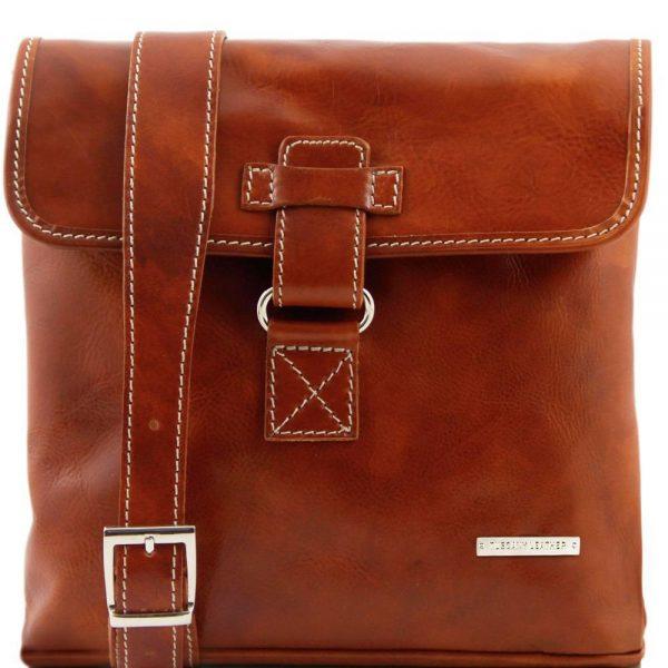 Мъжка кожена чанта за през рамо ANDREA TL9087-07