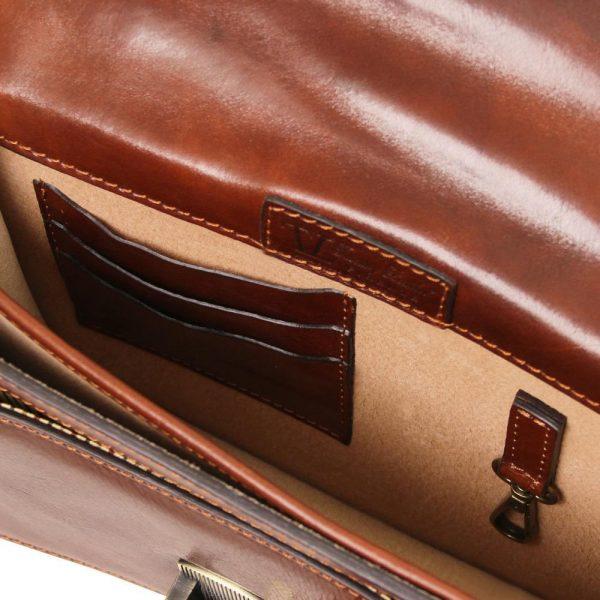 Мъжка кожена чанта за ръка и рамо ERIC TL141443-02
