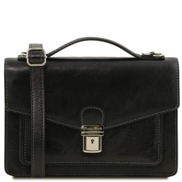 Мъжка кожена чанта за ръка и рамо ERIC TL141443-06