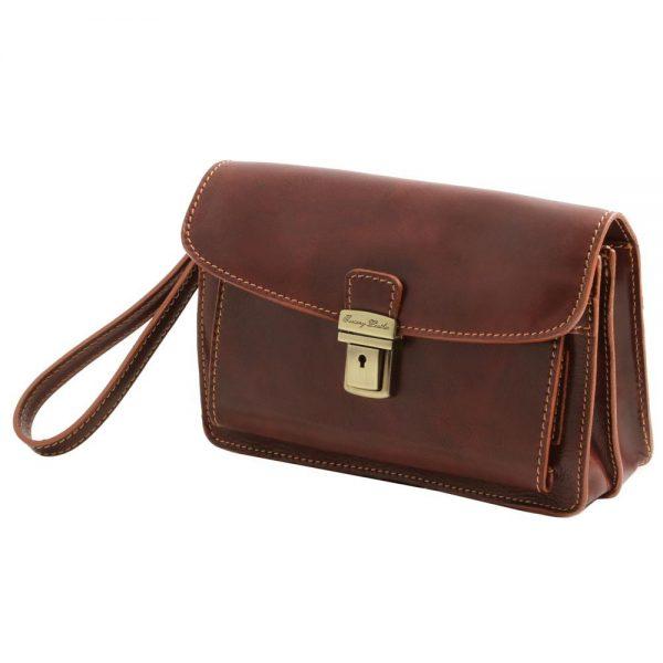 Мъжка кожена чанта за ръка MAX TL8075-01
