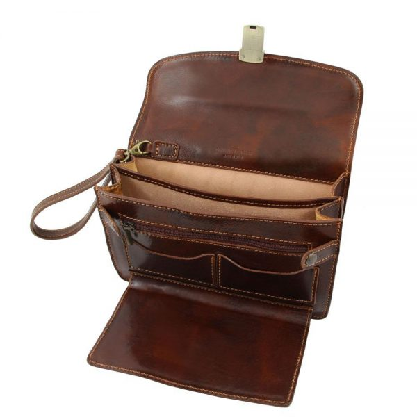 Мъжка кожена чанта за ръка MAX TL8075-03