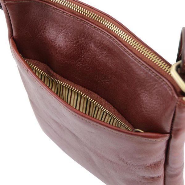 Мъжка кожена чанта за рамо JASON TL141300-02