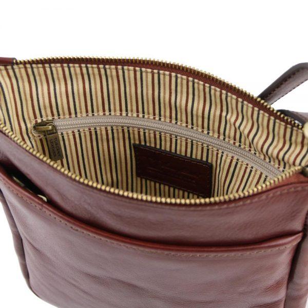 Мъжка кожена чанта за рамо JASON TL141300-03