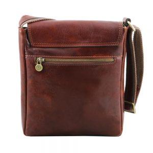 Мъжка кожена чанта за рамо JIMMY TL141407-02