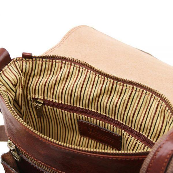 Мъжка кожена чанта за рамо JIMMY TL141407-03