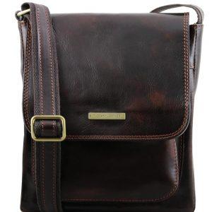 Мъжка кожена чанта за рамо JIMMY TL141407-08