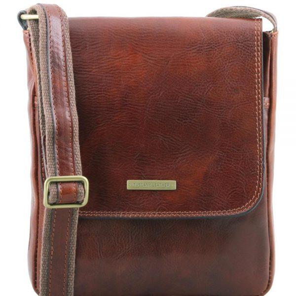 Мъжка кожена чанта за рамо JOHN TL141408-05